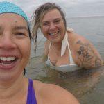 Zeezwemmen, koudwater zwemmen, natuur, open water, buiten zwemmen