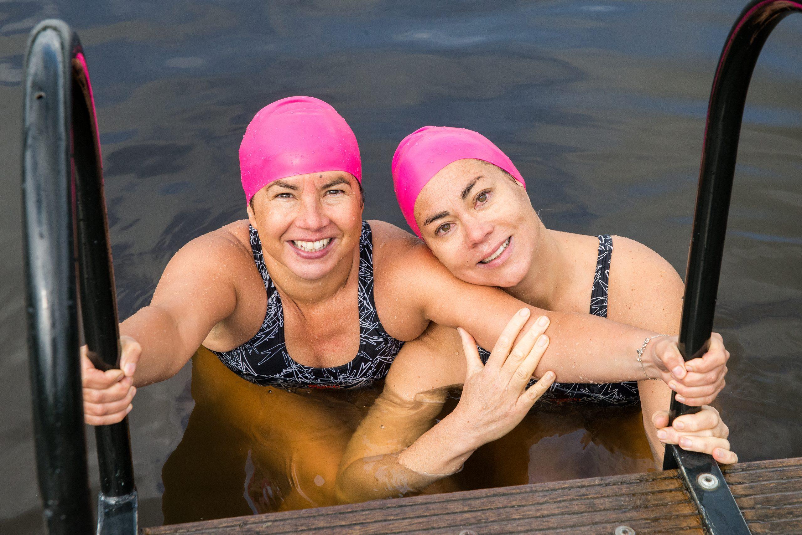 Openwater zwemmen in oktober