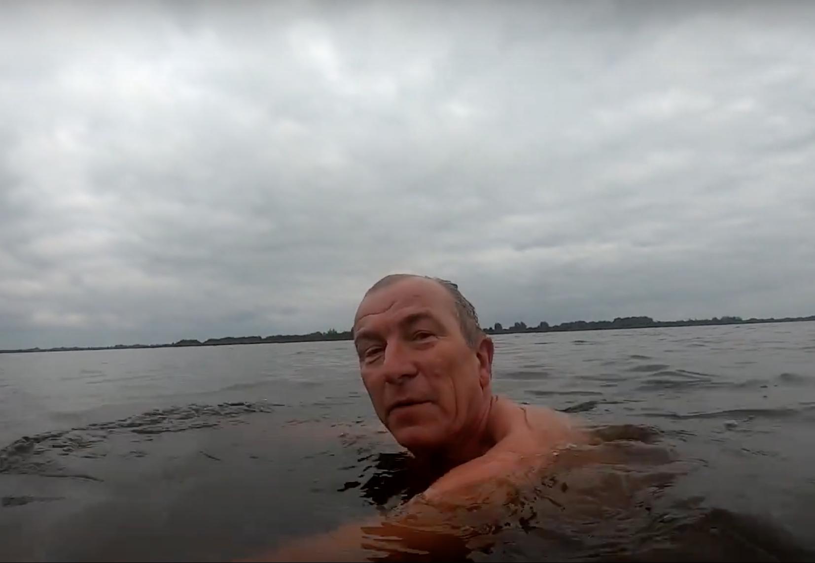 Buitenzwemmen in Friesland + 10 graden