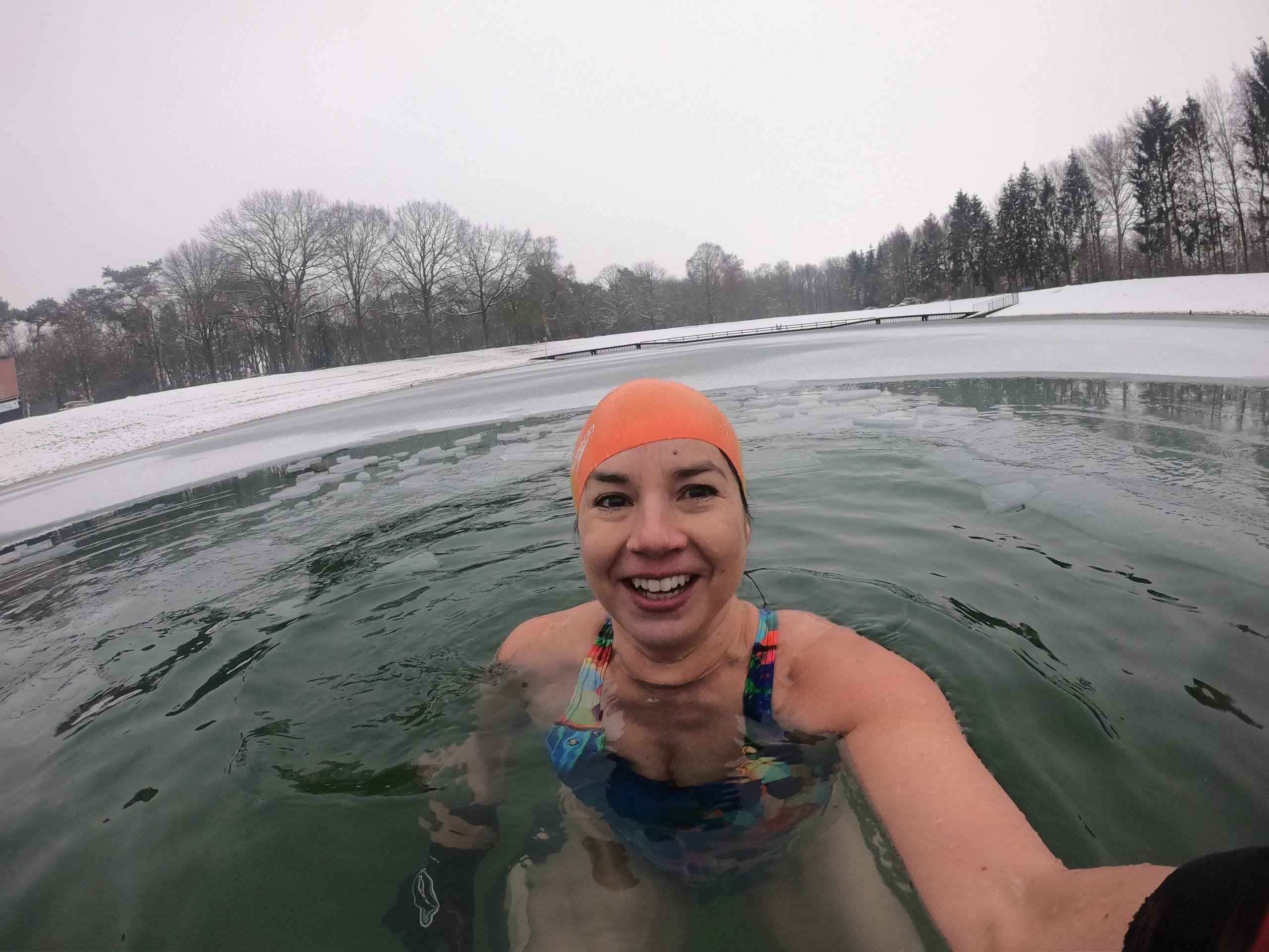 Winter zwemmen werkt verslavend